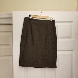 Ann Taylor Suit Pencil Skirt 00P